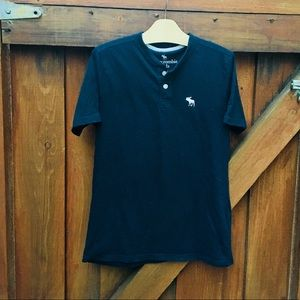 Other - Handsome Classic Navy shirt